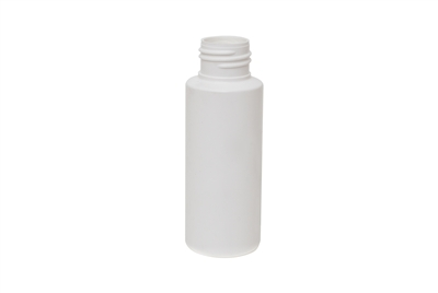 2 oz CYLINDER 15 GR Cylinder Round Cosmetic HDPE 24-410<span class='noshowcode'> s2oz </span>