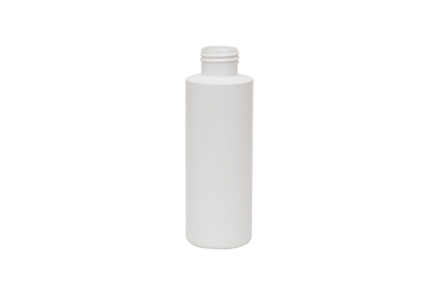4 oz CYLINDER 15 GR Cylinder Round Cosmetic HDPE 24-410<span class='noshowcode'> s4oz </span>
