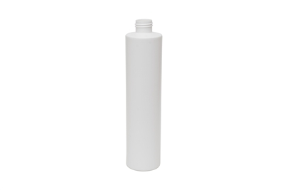 10.1 oz CYLINDER 29 GR Cylinder Round Cosmetic HDPE 24-410<span class='noshowcode'> s10.1oz </span>