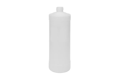 32 oz CYLINDER 54 GR WITH LABEL INDENTATION Cylinder Round Cosmetic HDPE 28-410<span class='noshowcode'> s32oz </span>