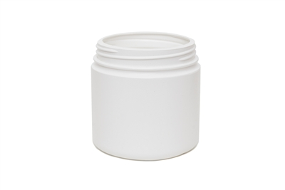16 oz JAR. SPECIAL NECK FINISH. 37 GR Wide Mouth Cosmetic HDPE 89-400<span class='noshowcode'> s16oz </span>