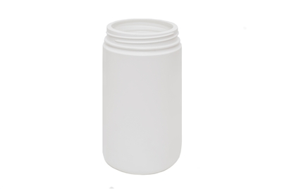 32 oz JAR. SPECIAL NECK FINISH. 58 GR Wide Mouth Cosmetic HDPE 89-400<span class='noshowcode'> s32oz </span>