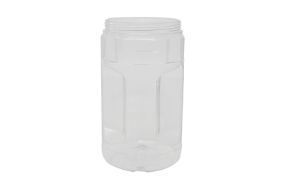 44 oz JAR CLEAR WITH HANDLE 52 GR Wide Mouth Cosmetic PVC 95-400<span class='noshowcode'> s44oz </span>