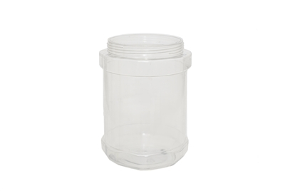 38 oz JAR CLEAR 50 GR Wide Mouth Cosmetic PVC 95-400<span class='noshowcode'> s38oz </span>