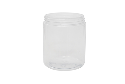20 oz JAR CLEAR 32 GR Wide Mouth Cosmetic PVC 89-400<span class='noshowcode'> s20oz </span>
