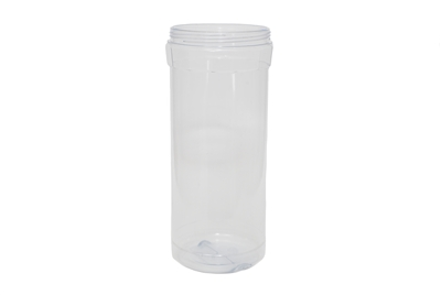 52 oz JAR OCTANGULAR CLEAR 60 GR Wide Mouth Cosmetic PVC 95-400<span class='noshowcode'> s52oz </span>