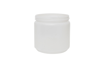 16 oz WIDE MOUTH JAR 30 GR Wide Mouth Pharmaceutical HDPE 89-400<span class='noshowcode'> s16oz </span>
