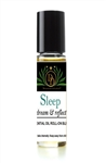 Sleep Essential Oil Blend Roll-On natural alcohol free perfume with sensuous madagascar vanilla essential oil