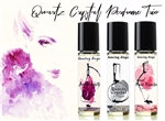 Quartz Crystal Natural Perfume Trio