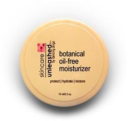 Oil Free Moisturizer with Hyaluronic and natural salicylic acids to clean and protect skin