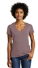 Alternative Weathered Slub V-Neck Tee - Ladies