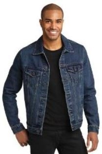 Port Authority Denim Jacket - Men's