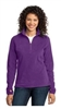Port Authority Microfleece 1/2 Zip Pullover - Ladies