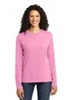 Port & Co Ladies Long Sleeve Cotton Tee