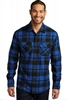 Port Authority Plaid Flannel Button Down Shirt