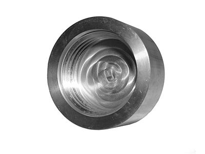 "2-1/4"" Machined Aluminum Cap, KC5013"
