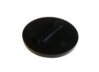 "Spin Weld Caps, 1"", Black, KC5967"