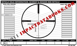 Schmidt & Bender MSR Reticle