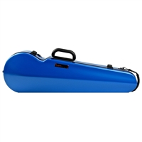 Bam Contoured Hightech Violin Case - Azure Blue