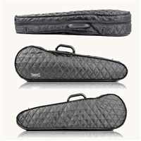 Bam Hoodie Cover for Contoured Violin Case - Black