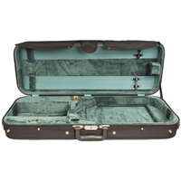 Bobelock 1005 Oblong Viola Case - Tan Velvet