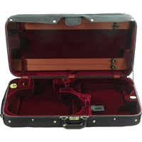 Bobelock 1021/1023 Oblong Violin/Viola Double Case - Green Velvet