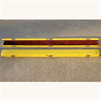 Bobelock Fiberglass Single Bow Case - Yellow