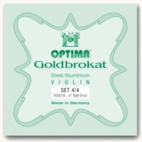 Lenzner Goldbrokat Violin String Set