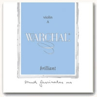 Warchal Brilliant Violin String Set
