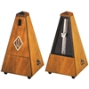 Wittner Maelzel Wooden Pyramid Style Metronome - Walnut