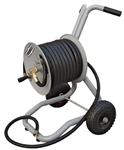 Steel Construction Two Wheel Garden Hose reel with cart