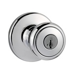 Kwikset Tylo Keyed Entry Knob DARK DURO