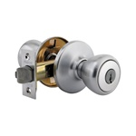 Kwikset Tylo Keyed Entry Knob BRASS