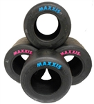 Full set Maxxis tires pinks and blues