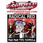 Radical red inside prep Gal.