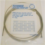 Throttle cable  72""