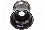 "Vank P-zero Black anodized 10"" wheel"