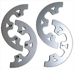 Aluminum sprocket guides