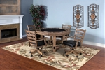 The Zebra dual purpose gaming table Set