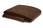 Dark Brown Deluxe Pool Table Cover SC-227