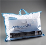 Embrace Air Water Pillow with Free Motion Medicine - Bonus 4 ounce tube of Motion Medicine Topical Analgesic