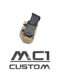 mc1 custom glock 9 40 kydex magazine carrier