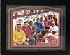 11x14 autographed St Louis Cardinals Million Dollar Team double matted, framed in black