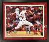 16x20 autograph photo of Chris Carpenter, matted and framed
