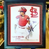 16x20 autograph collage of St Louis Cardinals Yadier Molina