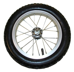 "Balance Bike - 12"" Replacement Alloy Wheel and Tire"