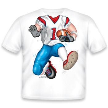 Football Red/White/Blue 121