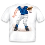 Baseball Fielder Blue/White 129