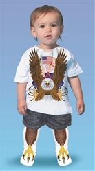 American Eagle Rider Boy T-shirt & Sock Combo