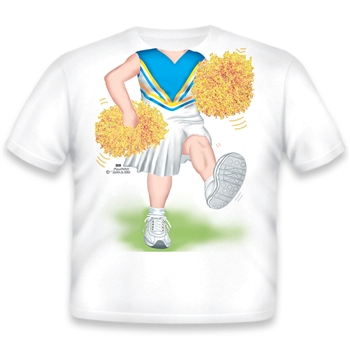 Cheerleader Light Blue/Yellow/White 359